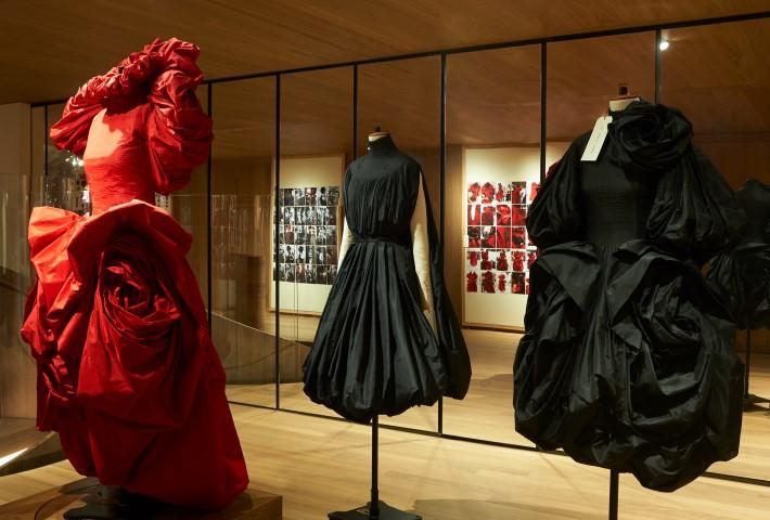 Alexander McQueen Exhibition Roses