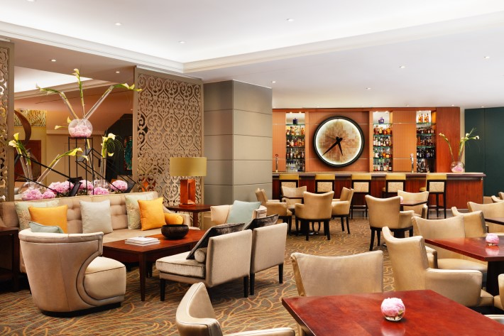 Tempus Lounge of Corinthia Hotel