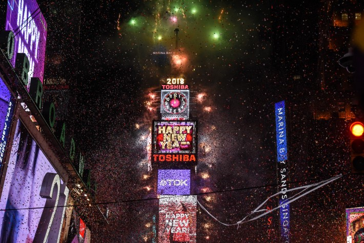 Places to Celebrate New Years Eve: New York