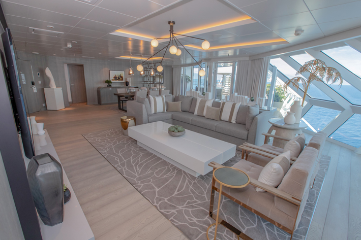 The Iconic Suite on Celebrity Edge