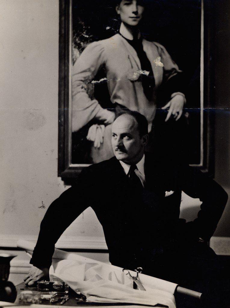 famous fashion designers - pierre balmain 1954