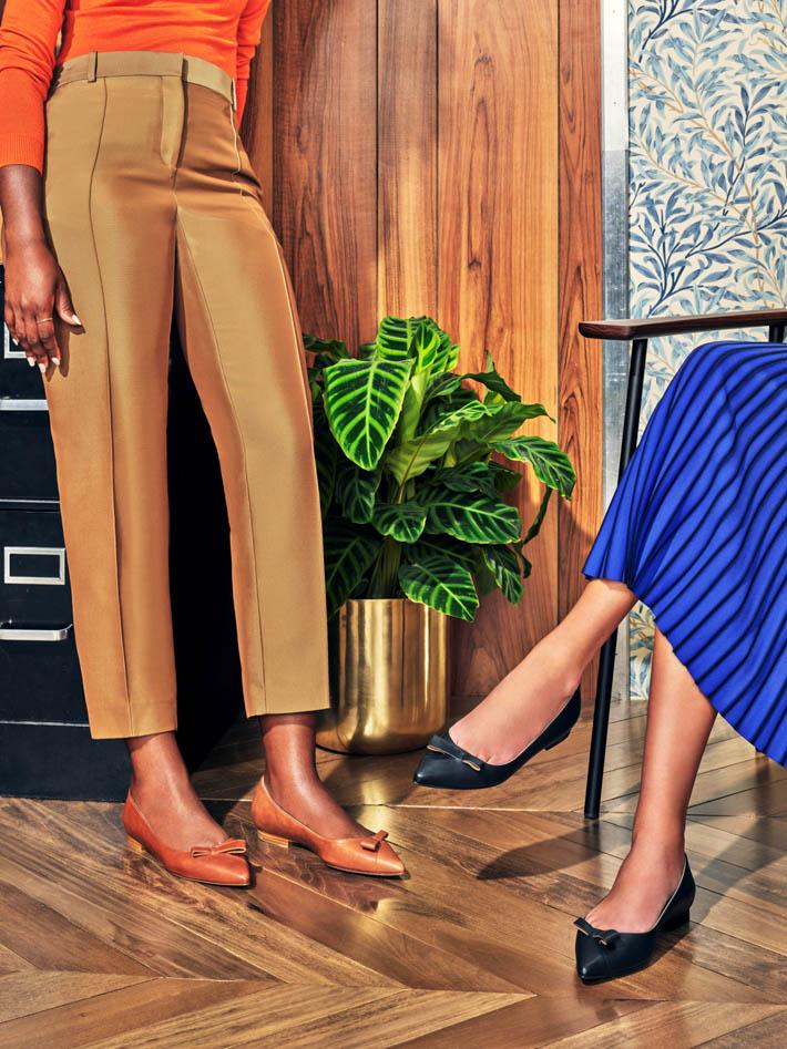 women wearing flats by sarah flint