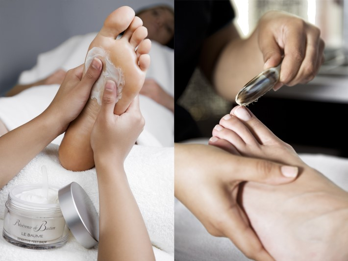Pedicure and Manicure Service