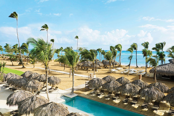 excellence el carmen pool and beach