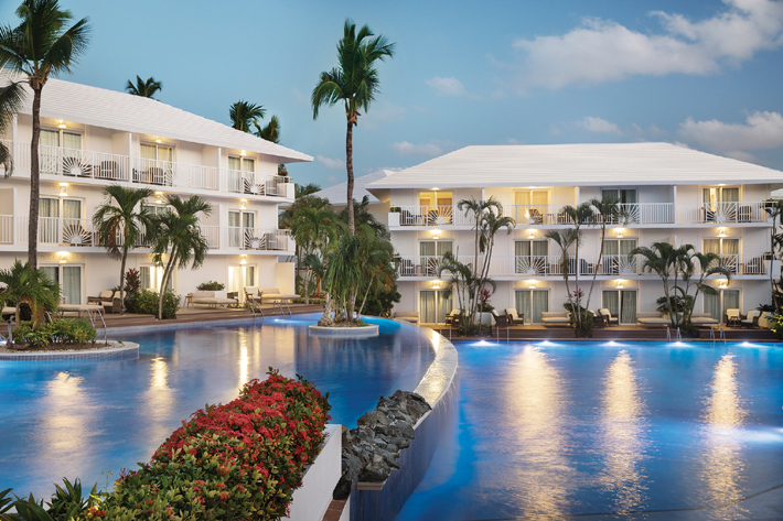 excellence punta cana waterfall infinity pool
