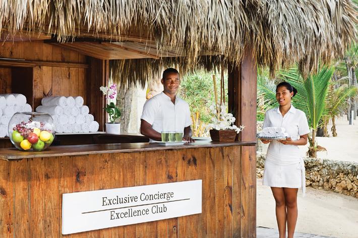 excellence club beach concierge