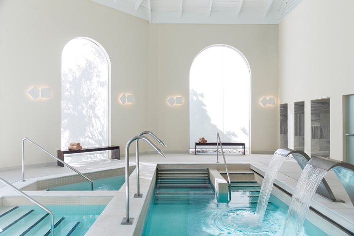 mille spa at excellence punta cana - Aqua Wellness Spa Treatment room