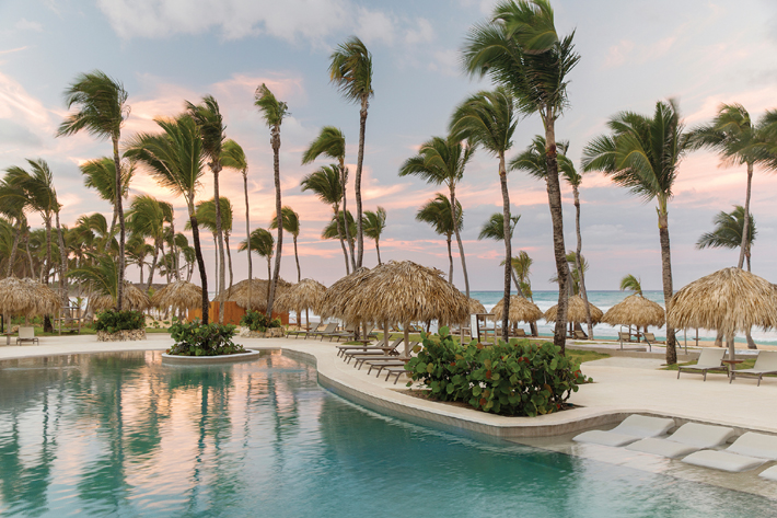 excellence punta cana pool and beach