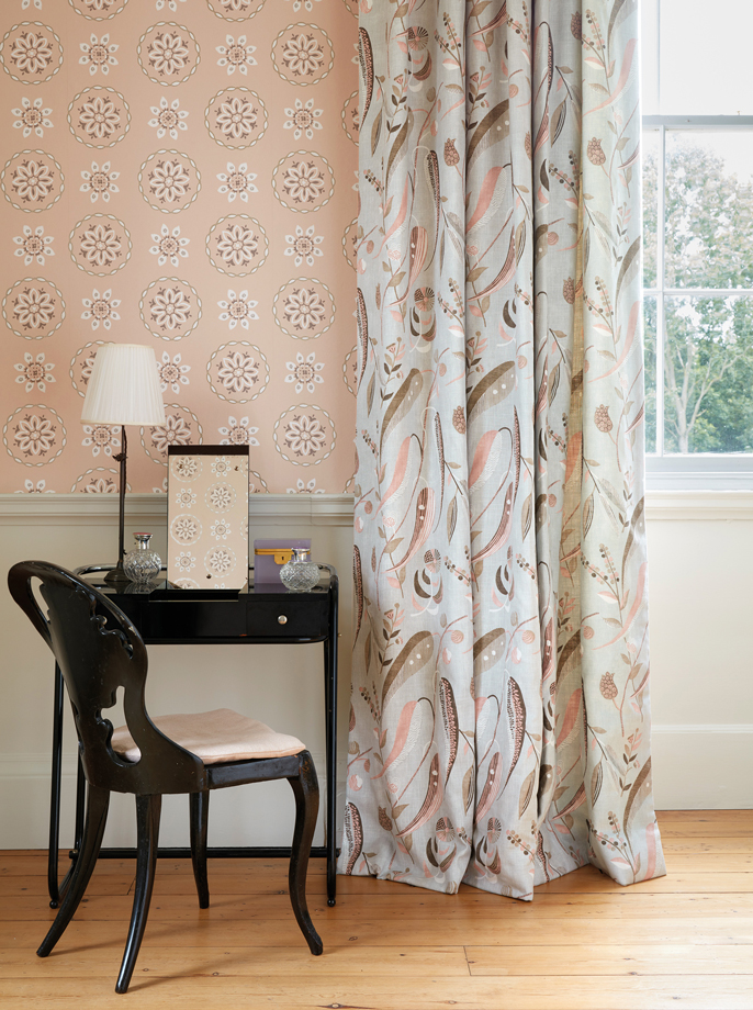 nina campbell textiles and wallpaper for osborne & little