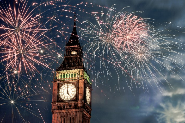 Places to Celebrate New Years Eve: London
