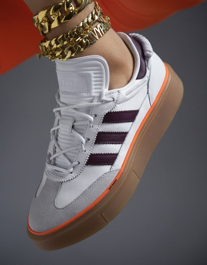 Sneakers by Beyonce and Addidas