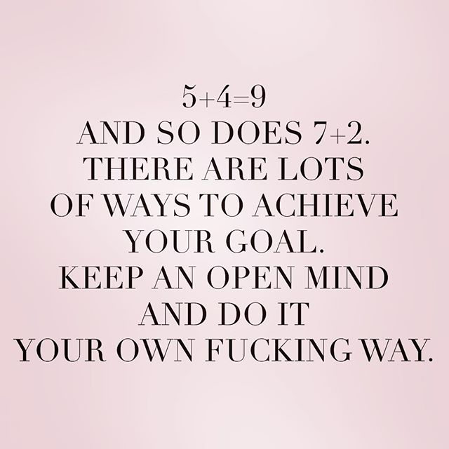 5+4=9 and so does 7+2. there are lots of ways to achieve....