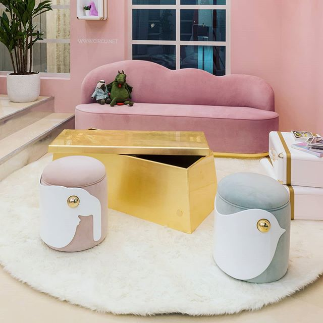 circu kids dream furniture - pastel color trends - interior decorating ideas