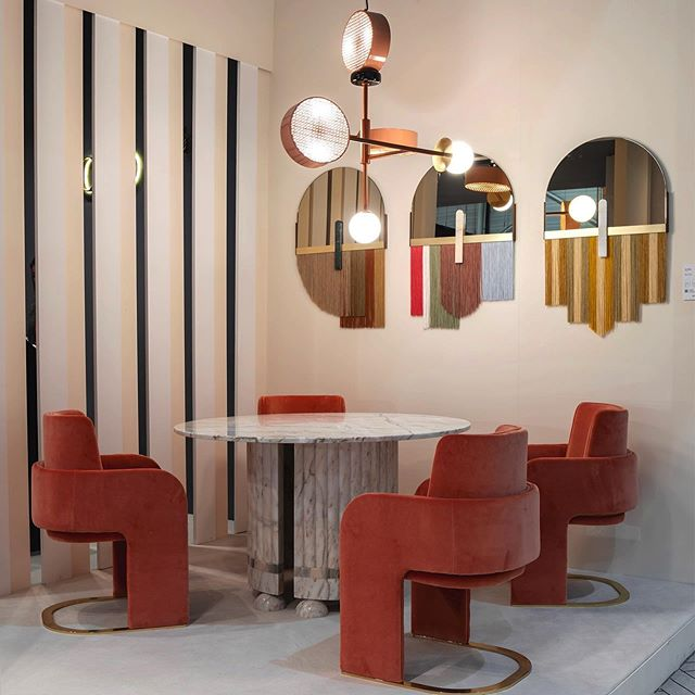 dooq furniture at maison et objet paris 2020 - interior decorating ideas
