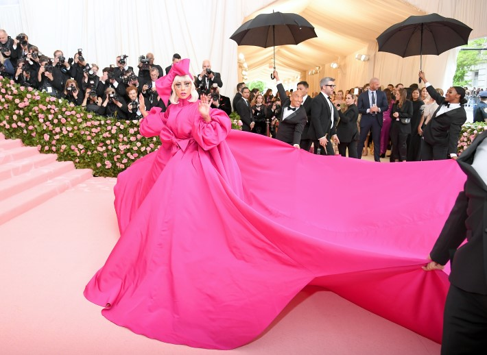 Lady Gaga during Met Gala