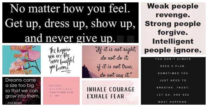 Inspirational Words for Women