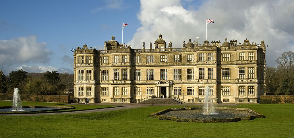 Longleat House is widely regarded as one of the finest examples of Elizabethan architecture in Britain - royal design