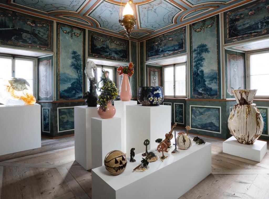 A room by Massimo De Carlo Nomad St. Moritz - Interior Design Events 2020