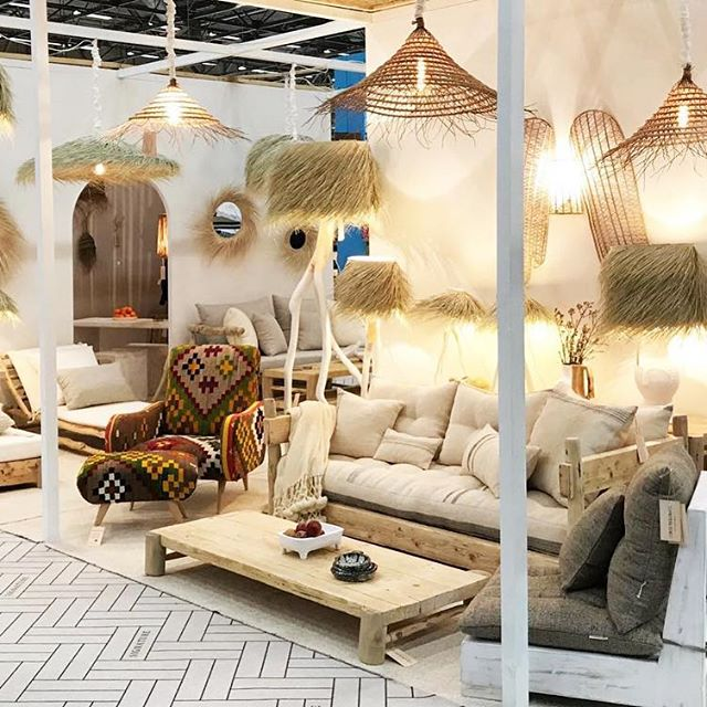 Rock the Kasbah - maison et objet paris 2020 - interior decorating ideas