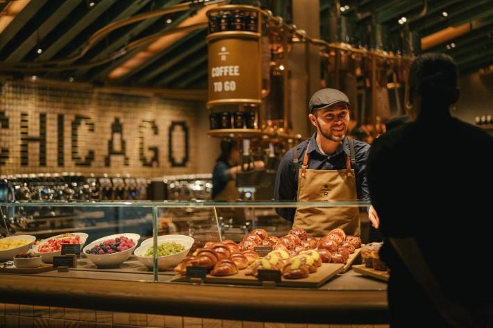 Starbucks Chicago Reserve Roastery at the Worlds Largest Starbucks