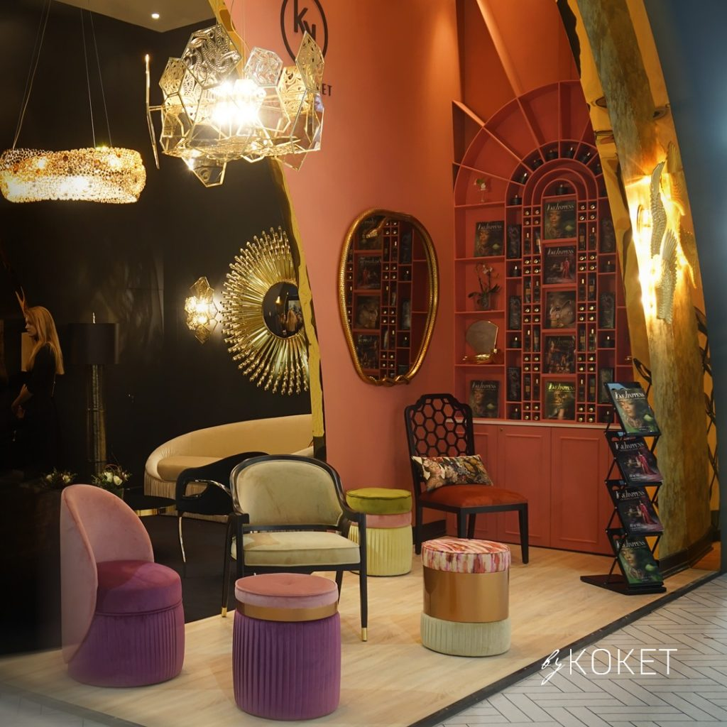 koket and kk by koket at maison et objet paris 2020 - interior decorating ideas