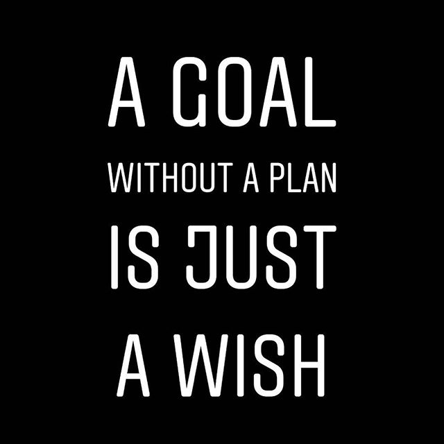 a goal without a plan is just a wish - inspirational words for women