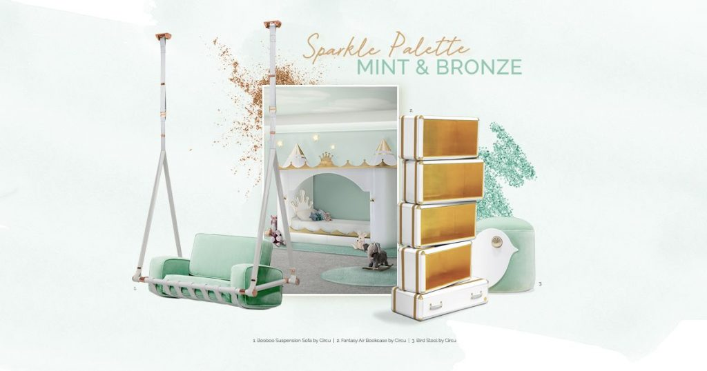 Neo Mint Color Trend Moodboard by Circu