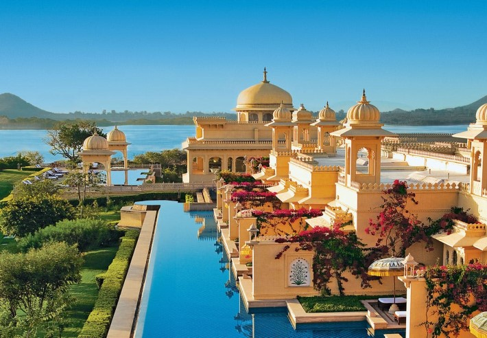 Best Hotels in the world: The Oberoi Udaivilas