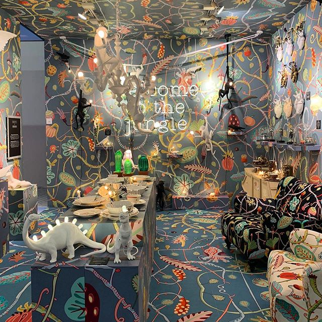 seletti at maison et objet paris 2020 - welcome to the jungle - interior decorating ideas
