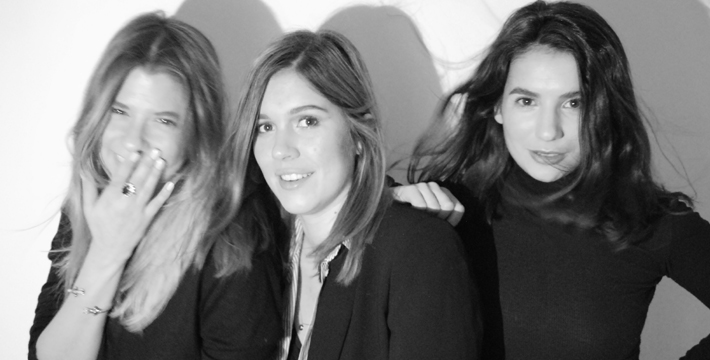 Studio AMV Founders, Anna Philippou, Marie Prosperi, and Victoire Guerlay