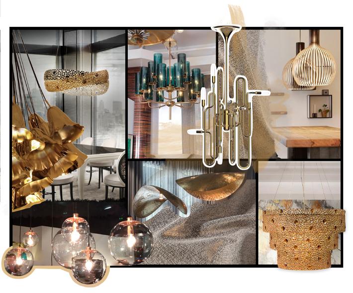 designing with luxury chandeliers koket moodboard