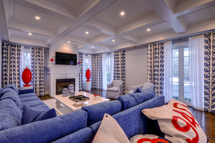 a living room design by keith baltimore