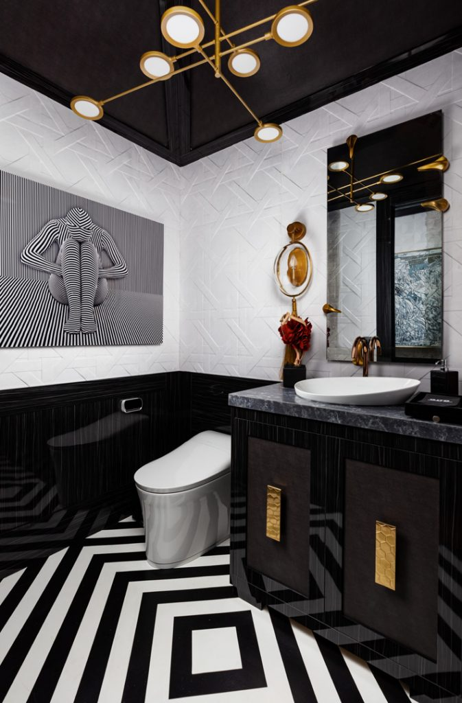 powder Room design by Javier Fernandez