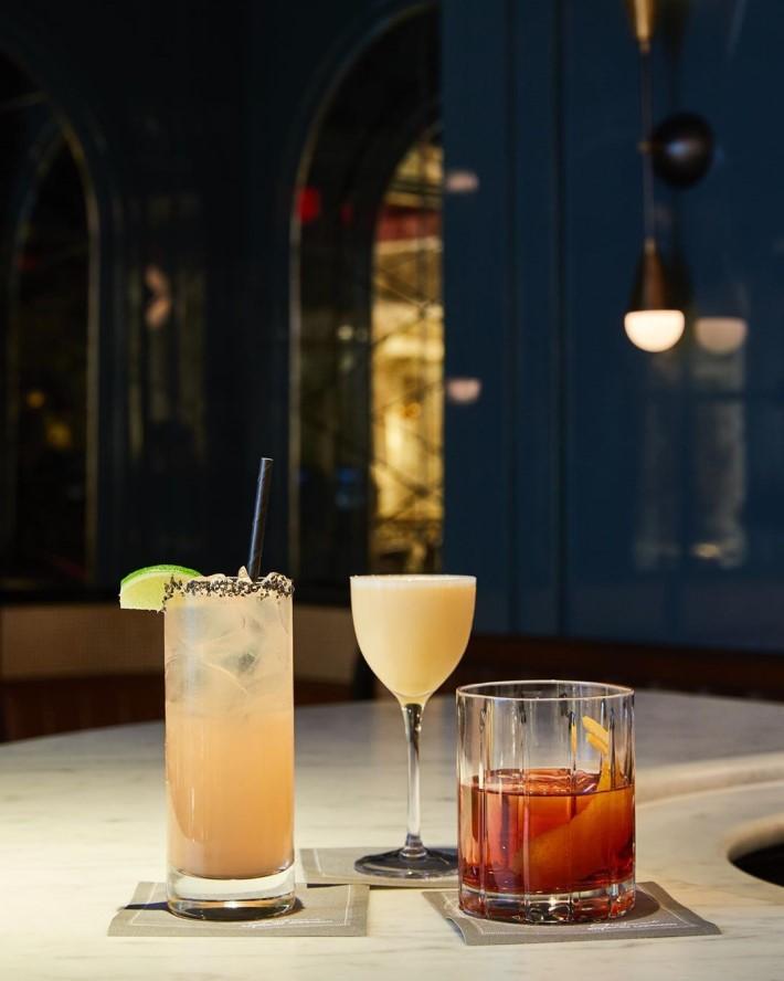 Drinks at Goodman's Bar