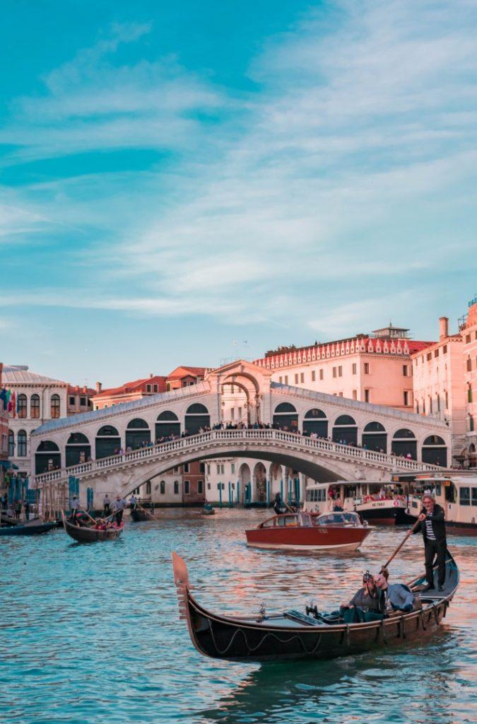 Romantic Weekend Getaways Rialto Bridge in Venice