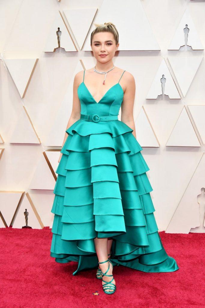 Best Dressed at Oscars 2020: Florence Pugh