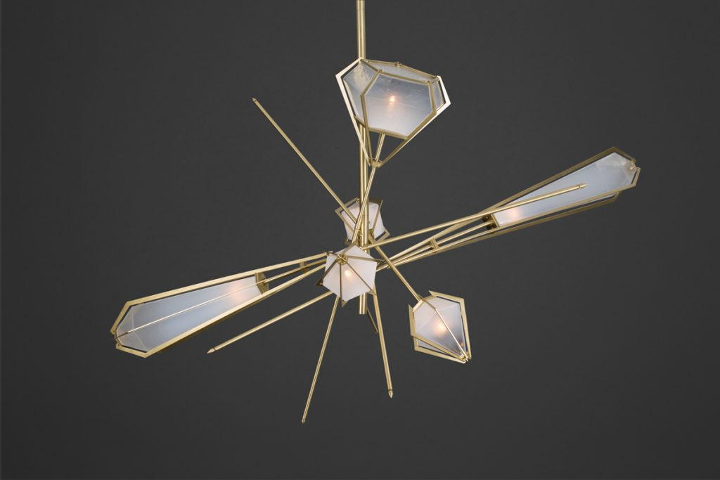 Harlow Chandelier by Gabriel Scott