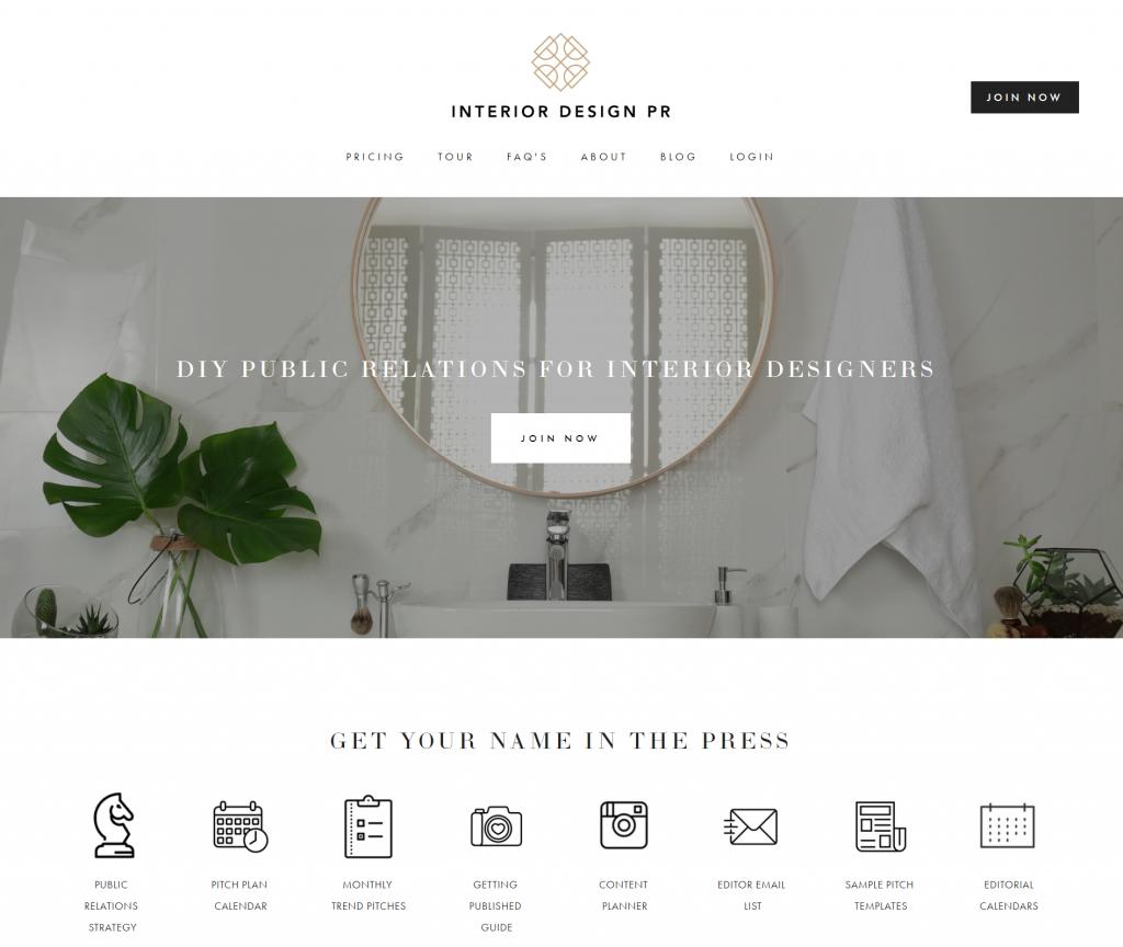 interior design pr - a design partnership