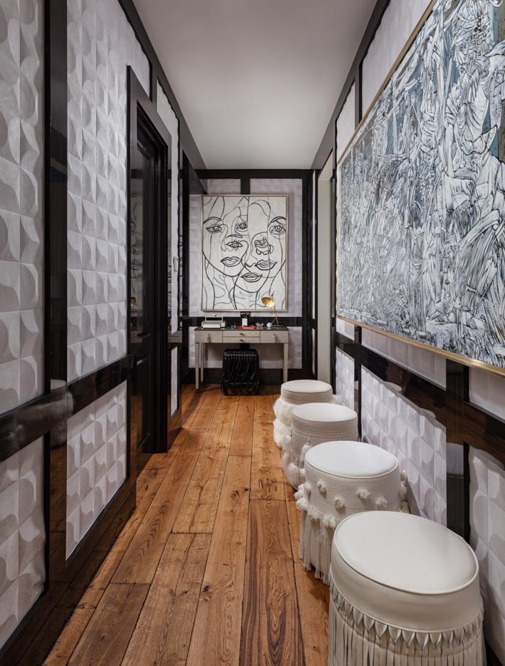 Hallway design by Javier Fernandez
