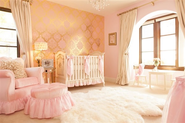 Chic Nursery Design by Little Crown Interiors - AFK Furniture