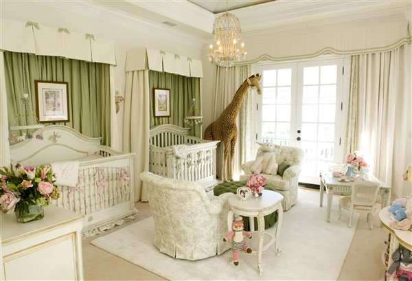 Mariah Carey's Nursery with AFK Furniture