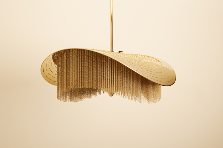 Envolée cascade A by Mydriaz (Photo by Jeremy Josselin) - unique luxury lighting brands to know