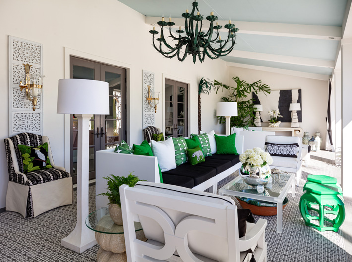 Loggia design by Sherrill Canet