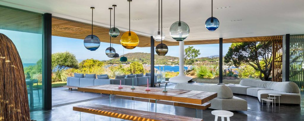 SkLO lighting at the h2 villa designed by architect Vincent Coste and associate architect Bruno Flechet (Photography by Florent Joliot)