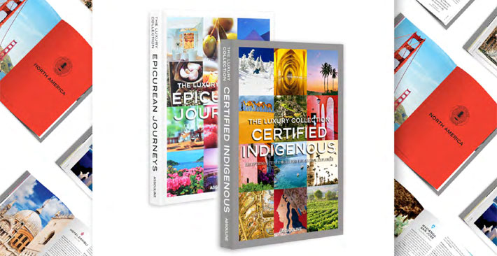 The Luxury Collection Book Series - Assouline - Epicurean Journeys and Certified Indigenous