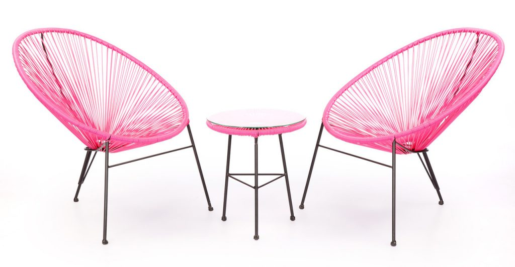 Acapulco Chairs & Table