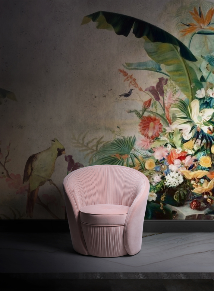 Bloom Chair by KOKET - pink furniture