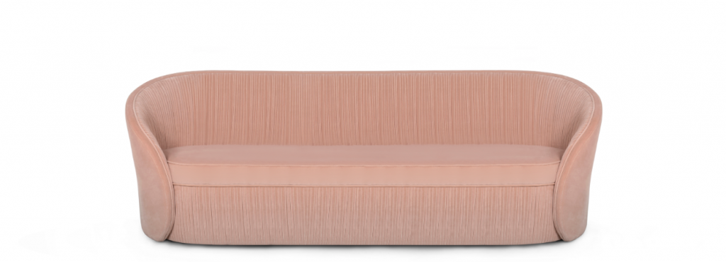 Bloom Sofa by KOKET - pink furniture
