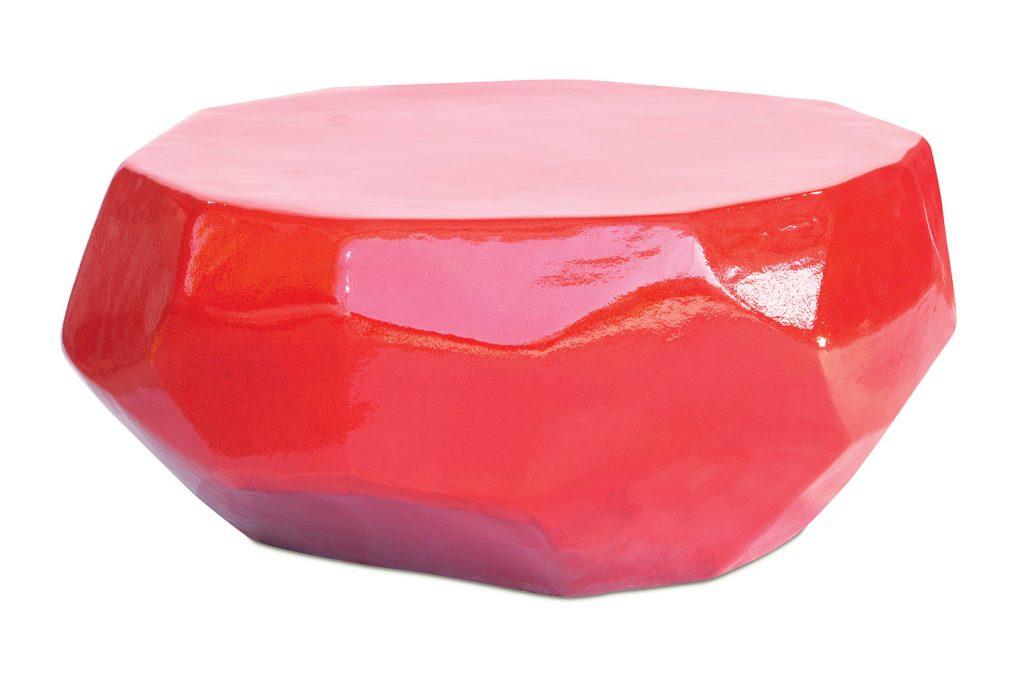 Ceramic Geo Coffee Table by Seasonal Living