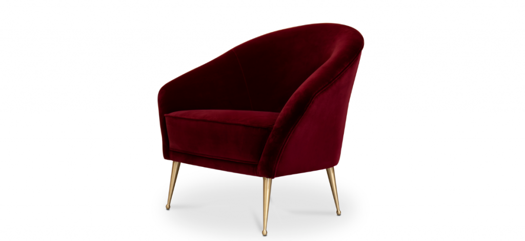 chiclet chair by koket - red furniture